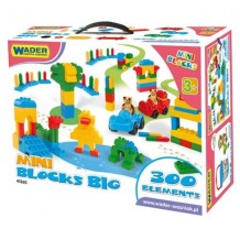 WADER Мини блоки в большой коробке (300 элем.), 41360