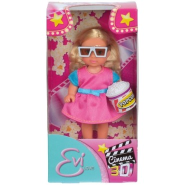 """Кукла Эви """"3D Кинотеатр"""", 12 см, 5732337"""