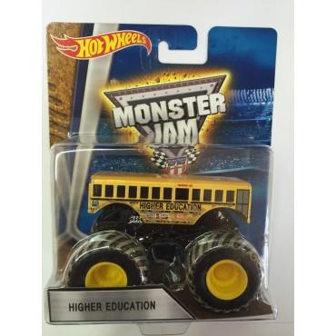 "Машина-позашляховик HIGHER EDUCATION серії ""Monster Jam"" Hot Wheels, BHP37"