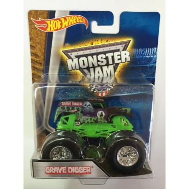 """Машина-внедорожник GRAVE DIGGER серии """"Monster Jam"""" Hot Wheels, BHP37"""