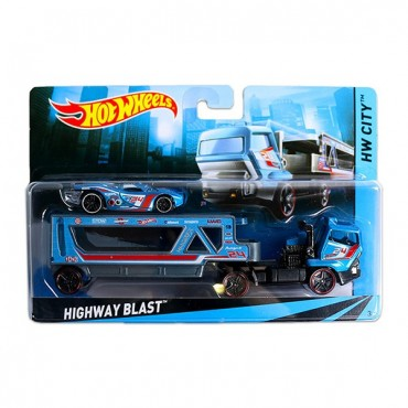 Машина дальнобійника Hot Wheels, BDW51