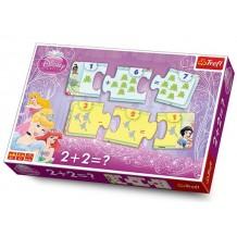 """Навчальна гра """"Вчимося рахувати"""" """"Принцеси Дісней"""", 00652"""