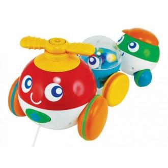 """Интерактивная игрушка Smily Play """"Пузырьковый поезд"""", 0900"""