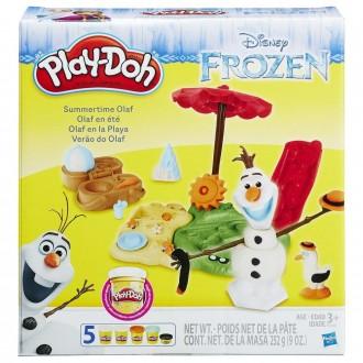 """""""Літні Пригоди Олафа"""" Play-Doh, B3401"""