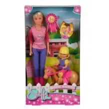 """Кукла Штеффи """"Обучение верховой езде"""", 5738051"""