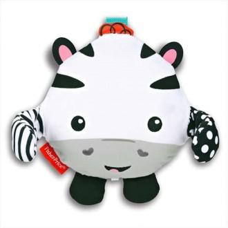 М'яка музична розвиваюча іграшка, що сміється Зебра, CMY54