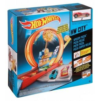 Трек Скоростная доставка пиццы Hot Wheels, X9295