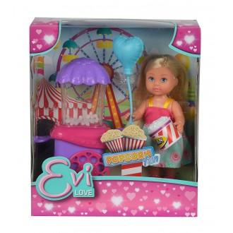 Лялька Еві та попкорн-машина, 12 см, 5738058