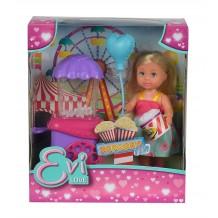 Кукла Эви и попкорн машина, 12 см, 5738058