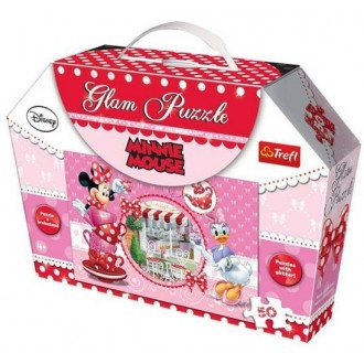 Пазл Trefl Minnie Mouse - Гламур, 50 дет., 14803