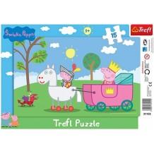 Пазл Baby Свинка Пеппа Trefl, 31152