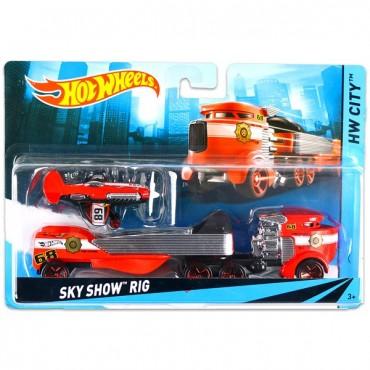 Машина дальнобойщика Hot Wheels, BDW51