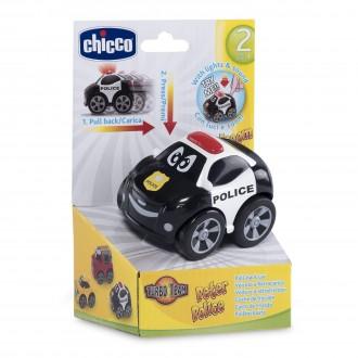 Машинка інерційна серії Turbo Team, Поліцейський Петер, 079010